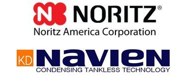Noritz Navien Tanless Water Heaters